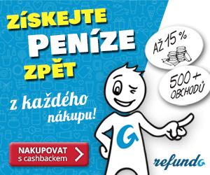 Refundo.cz cashback